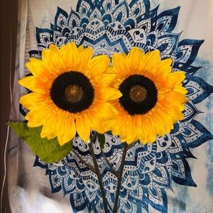 Faux Sunflowers